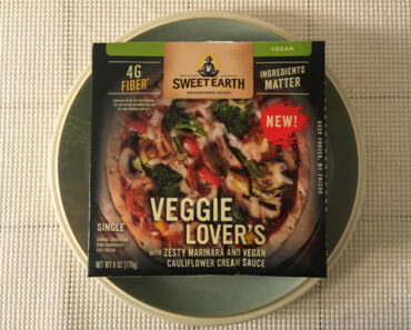 Sweet Earth Veggie Lover's Personal Pizza