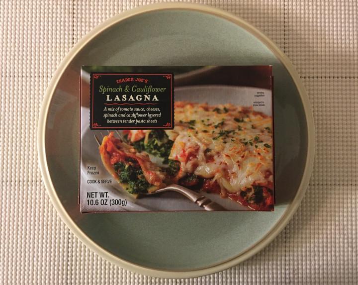 Trader Joe's Spinach & Cauliflower Lasagna