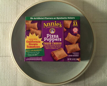 Annie's Three Cheese Pizza Poppers