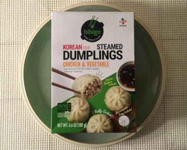 Bibigo Chicken & Vegetable Korean Style Steamed Dumplings Review