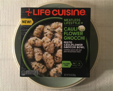 Lean Cuisine Meatless Lifestyle Pesto Cauliflower Gnocchi Bowl