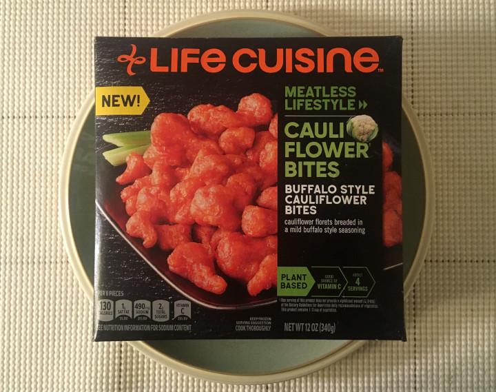 Life Cuisine Meatless Lifestyle Buffalo Style Cauliflower Bites