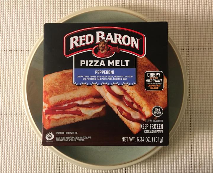 Red Baron Pepperoni Pizza Melt