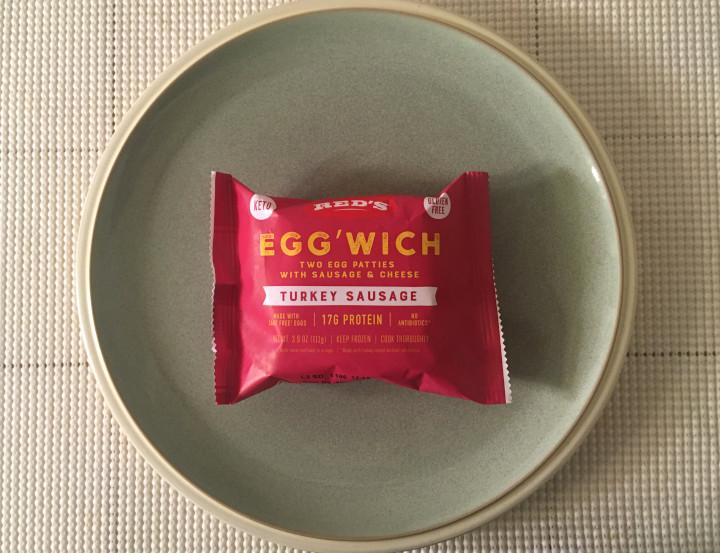 Red's Turkey Sausage Egg'wich