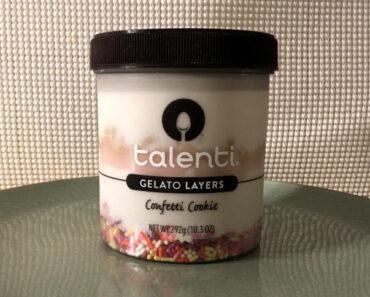 Talenti Confetti Cookie Gelato