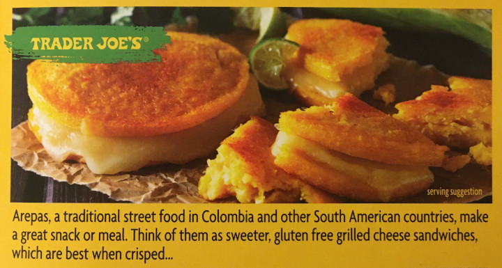 Trader Joe's Corn & Cheese Arepas