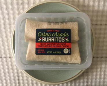 Trader Joe's Carne Asada Burritos