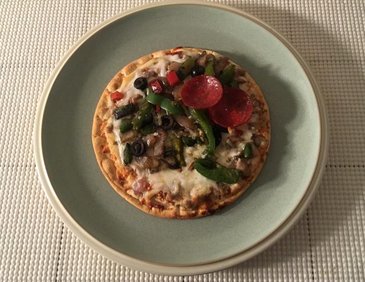 Bellatoria Ultimate Supreme Ultra Thin Crust Personal Size Pizza