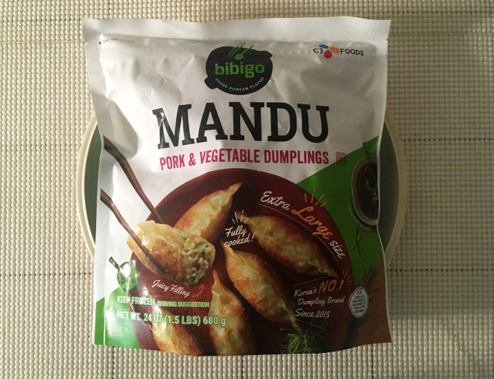 Bibigo Mandu Pork & Vegetable Dumplings