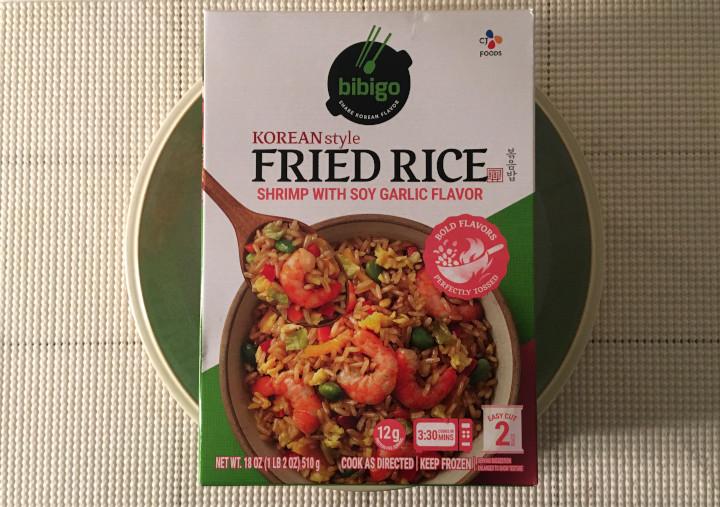 Bibigo Korean Style Fried Rice with Shrimp and Soy Garlic Flavor