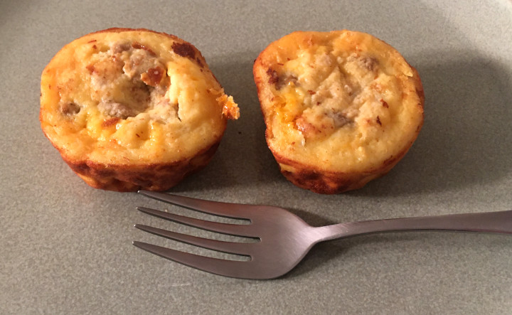 Jimmy Dean Sausage & Cheddar Omelet Minis