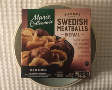 Marie Calendar's Savory Swedish Meatballs Bowl