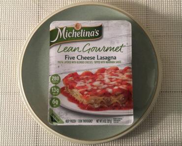 Michelina's Lean Gourmet Five Cheese Lasagna