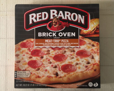 Red Baron Brick Oven Crust Meat-Trio Pizza Review