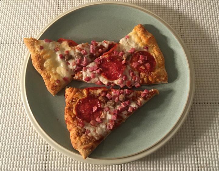 Red Baron Brick Oven Crust Meat-Trio Pizza