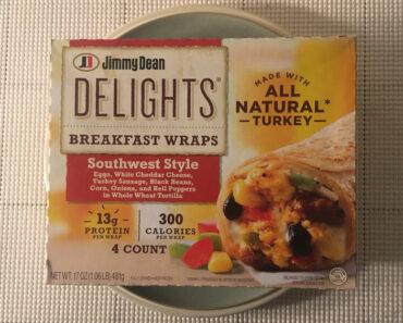 Jimmy Dean Delights Southwest Style Breakfast Wraps Review