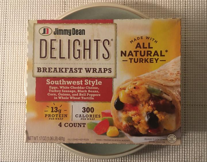 Jimmy Dean Delights Southwest Style Breakfast Wraps