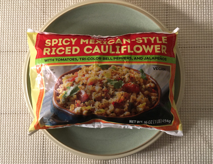 Trader Joe's Spicy Mexican-Style Riced Cauliflower