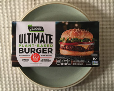 Gardein Ultimate Plant-Based Burger Review