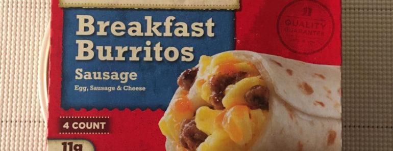 Jimmy Dean Sausage Breakfast Burritos Review