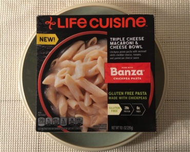 Lean Cuisine Triple Cheese Macaroni & Cheese Bowl Made with Banza Chickpea Pasta Review
